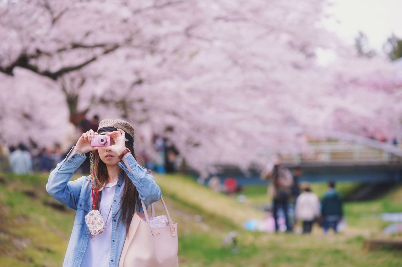 Capture The Moment Fantasy Springtime Depth Of Field Only Women Taking Photos Of People Taking Photos Snapshots Of Life Pink Color Beauty In Nature Women Around The World Nature Fine Art Sakura Uzuki Of The Flower Focus On Foreground Fashion Rural Scene Bokehlicious Bokeh Background Full Frame Detail Sigma SONY A7ii EyeEm Best Shots 17_05 The Portraitist - 2017 EyeEm Awards The Great Outdoors - 2017 EyeEm Awards The Street Photographer - 2017 EyeEm Awards Break The Mold EyeEmNewHere Live For The Story