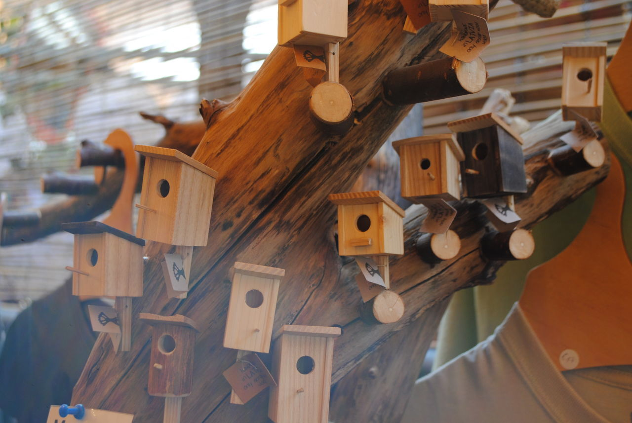 #birds #Handmade #crafts #riga Birdhouse Close-up Day No People Wood - Material