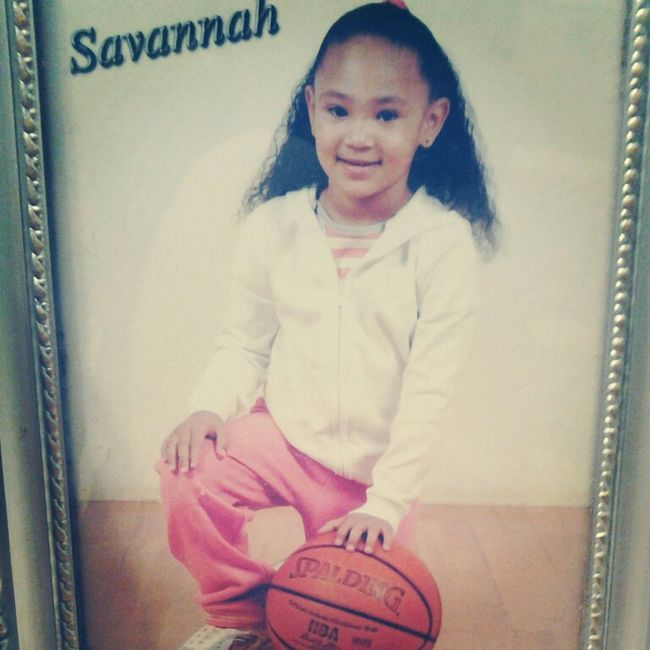 Me When I Was Little...I Love Basketball