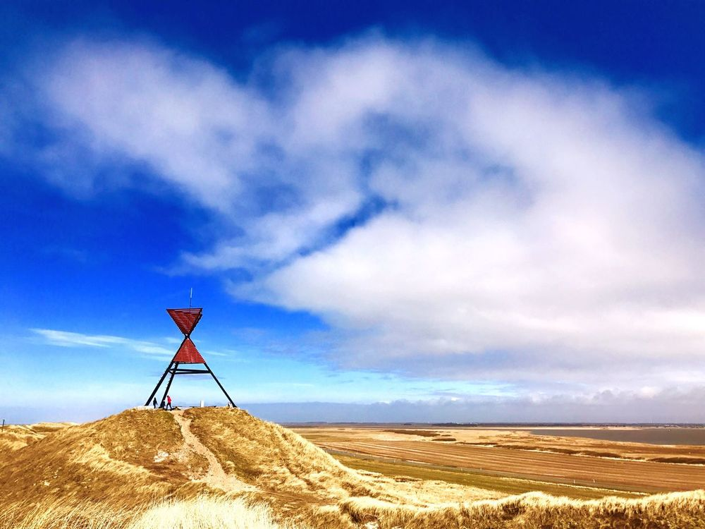 Denmark 🇩🇰 Day No People Nature Sky Outdoors Blue Seezeichen Nordsee