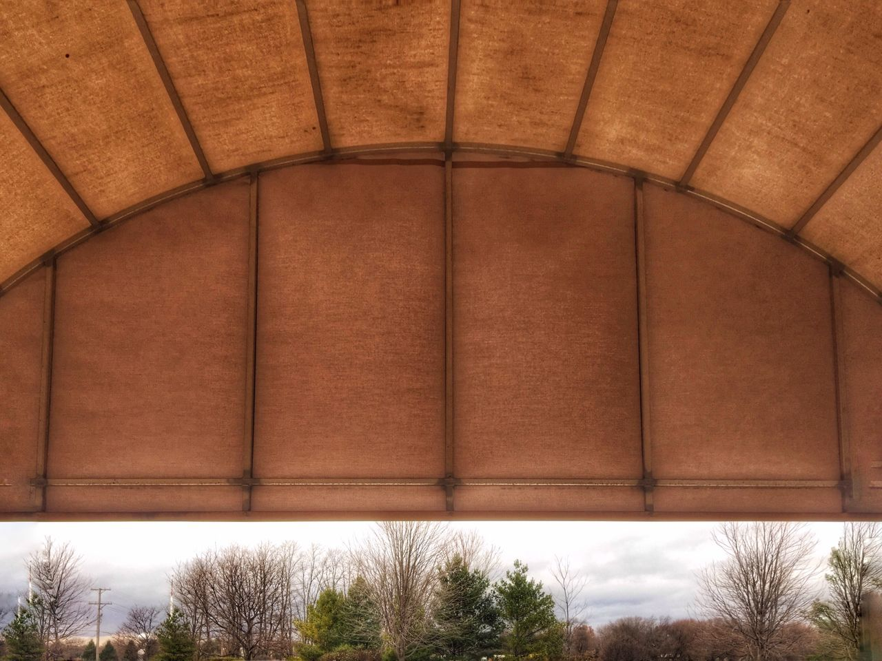 Exploring Style Built Structure The Week On Eyem Design Geometric Shape Architecture Pattern No People Trough My Eyes Low Angle View Day Outdoors Trees And Sky Fall Beauty Fall Colors My Own Style Of Beauty Canopy From Inside Out Oswego, IL
