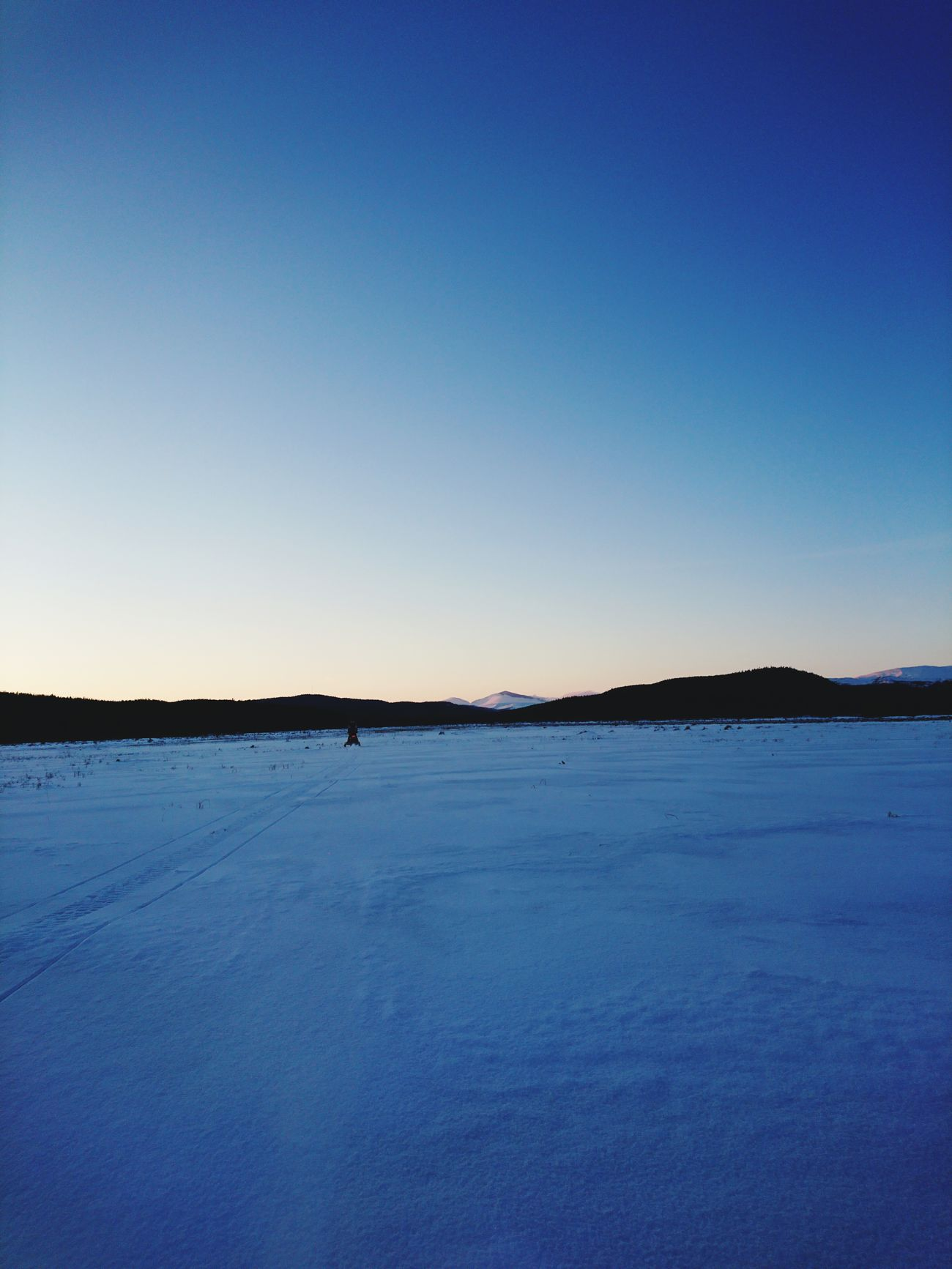 Mountain Nature Landscape Sky Tranquil Scene Beauty In Nature Cold Temperature Härjedalen Snowmobile Ice Sunset Winterday Helags