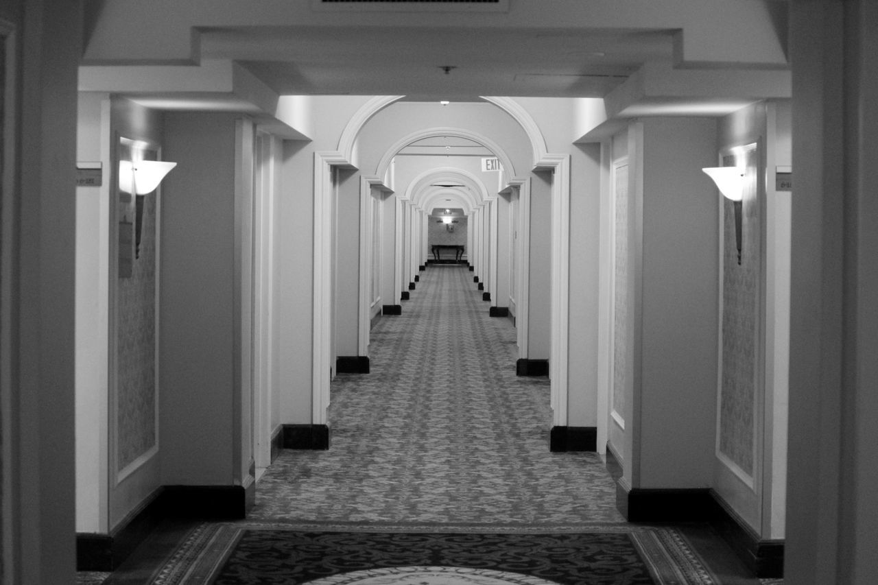 Beautiful stock photos of hotel, Absence, Day, Empty, Hallway