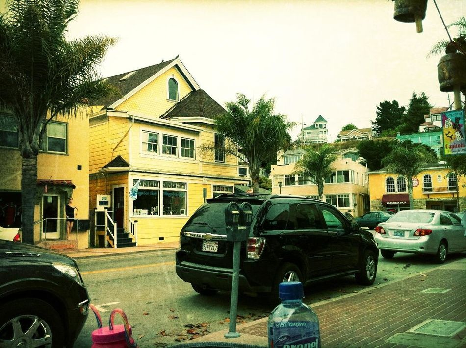 Walking around at Capitola by-the-sea Walking Around