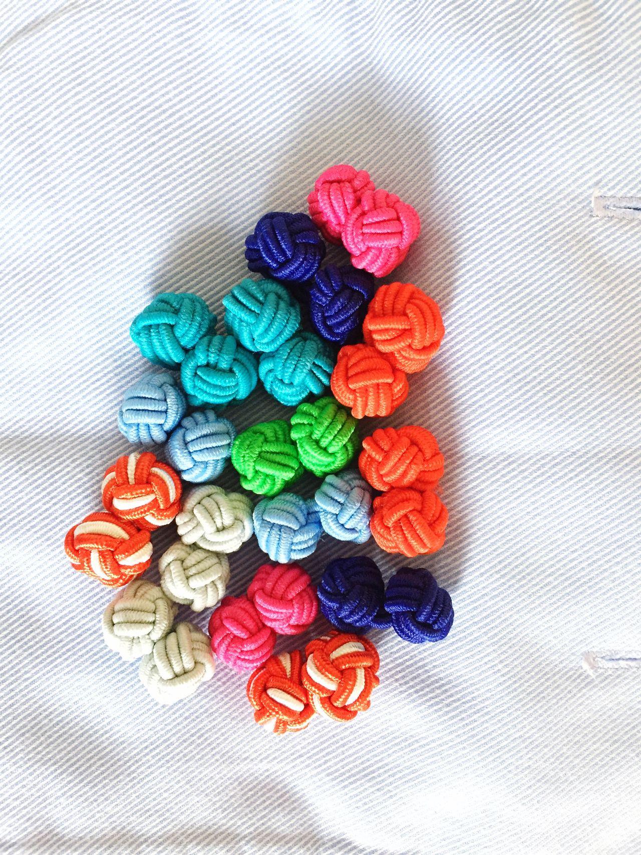 Cufflinks fashion Shirt elegant Colorful cuffs