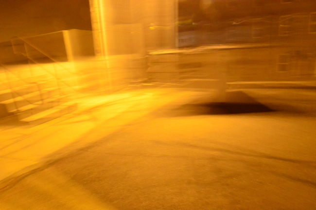 Blurred Motion Illuminated Light - Natural Phenomenon Motion Night No People The Way Forward Wall - Building Feature