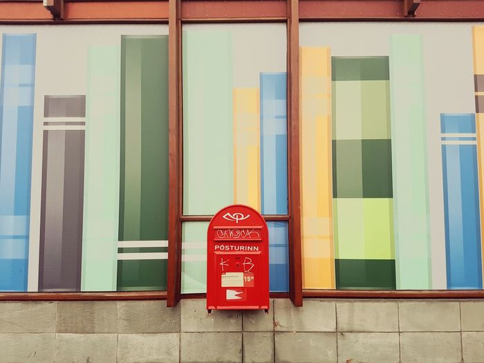 Multi Colored No People Building Exterior Built Structure Outdoors Day Business Finance And Industry Horizontal Architecture Poster Postbox Books Colours And Patterns Showcase Oktober 2016