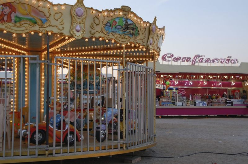 Arts Culture And Entertainment Carousel Creativity Enfance Fun FunTimes! Sunset