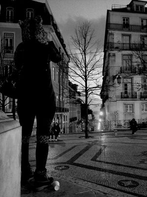 streetphotography at Praça Luís de Camões by Joker