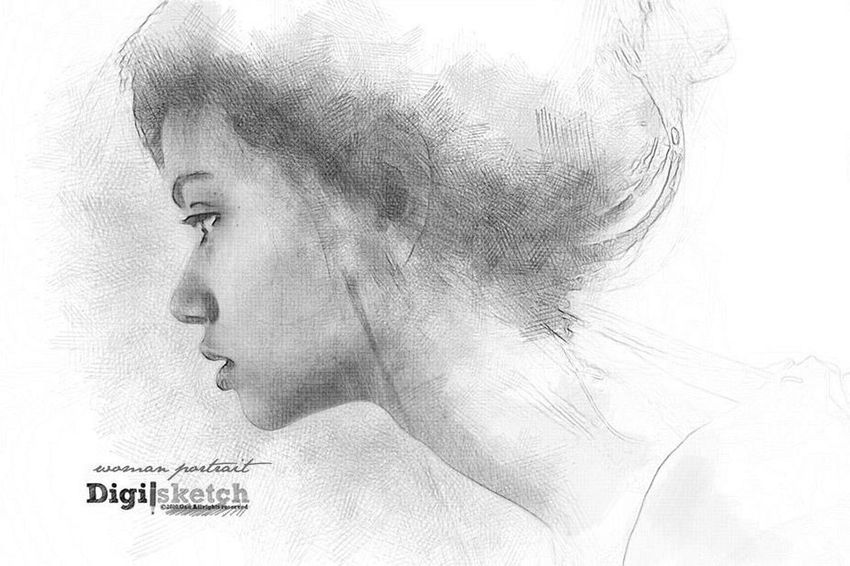 Art Design Digital Art Digisketch