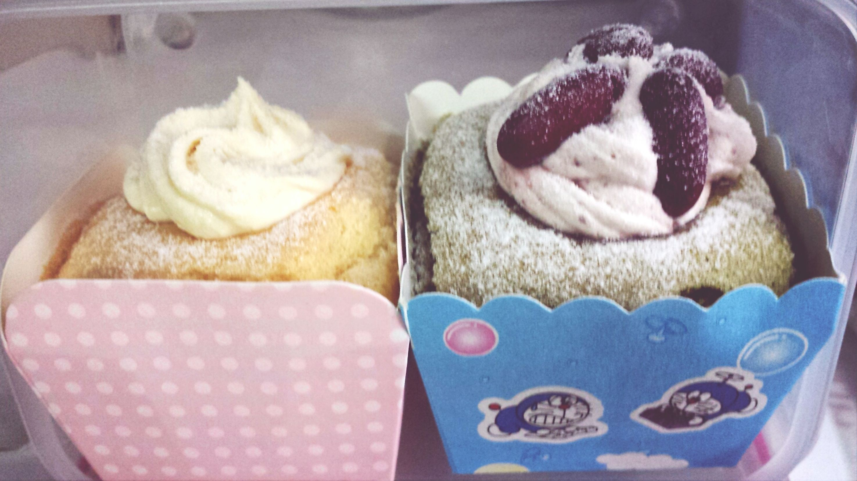 Who's the best? Durian vs Green Tea Hokkaido Cup Cake Vegan
