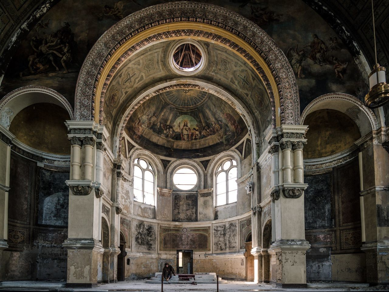 The Architect - 2017 EyeEm Awards Architecture Built Structure Arch Spirituality History Travel Destinations Place Of Worship Religion Indoors  Day Real People Architectural Column