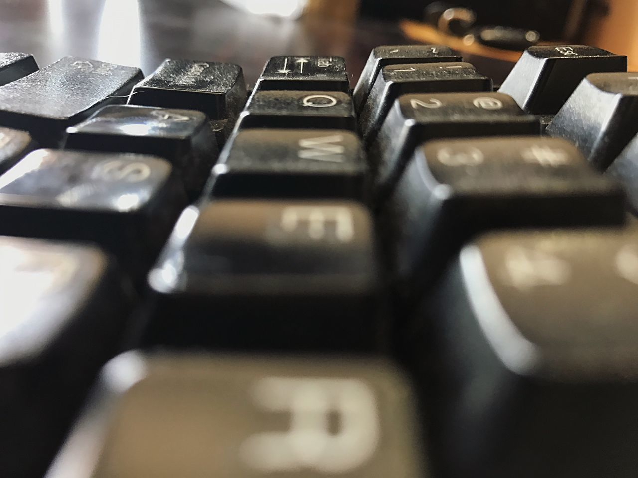 selective focus, indoors, close-up, alphabet, text, no people, typewriter, computer key, computer keyboard, technology, arts culture and entertainment, keyboard, day