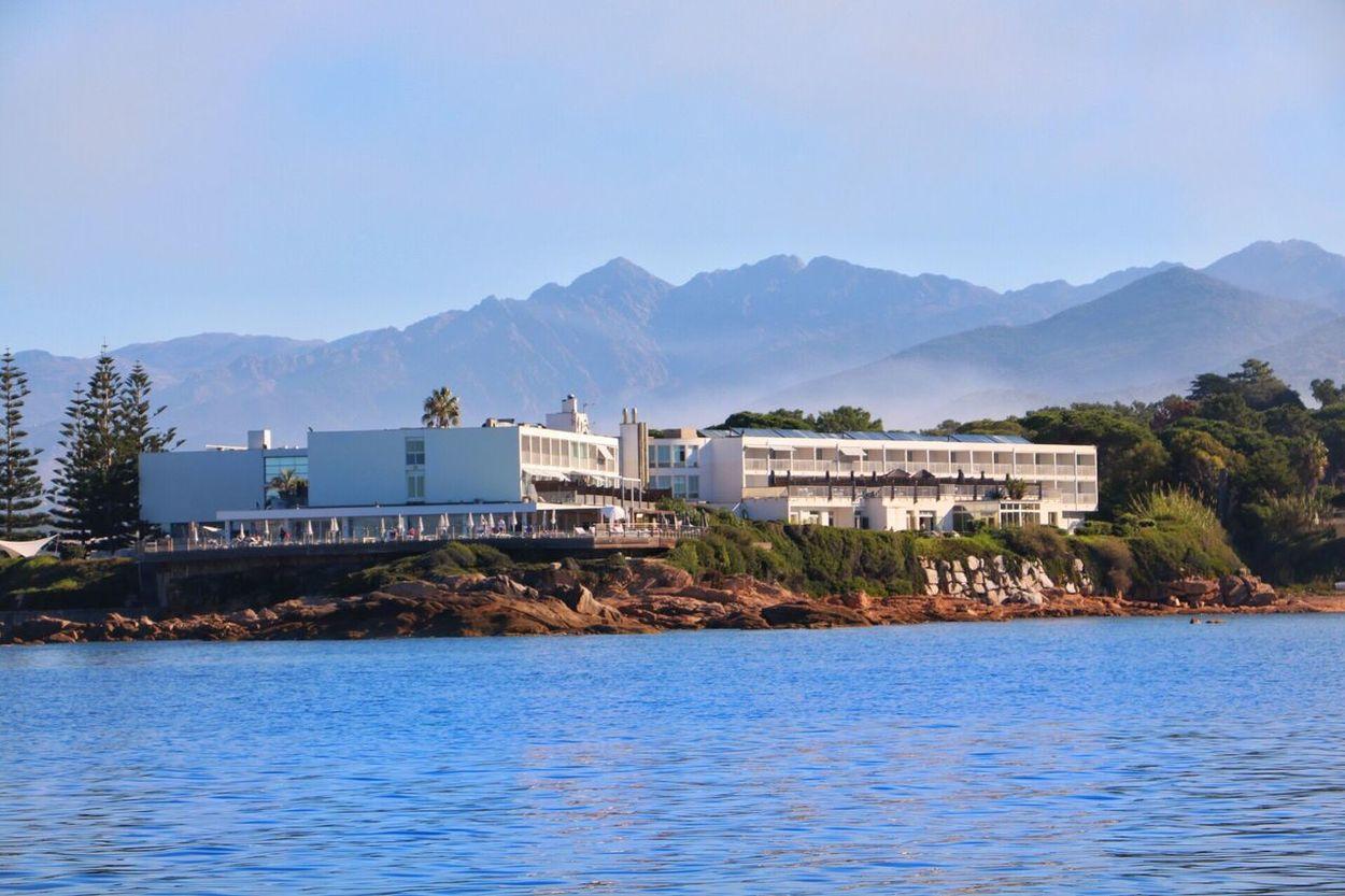 Hotel Sofitel Sea And Sky Sea Mountains Corsica Ajaccio Built Structure Trees