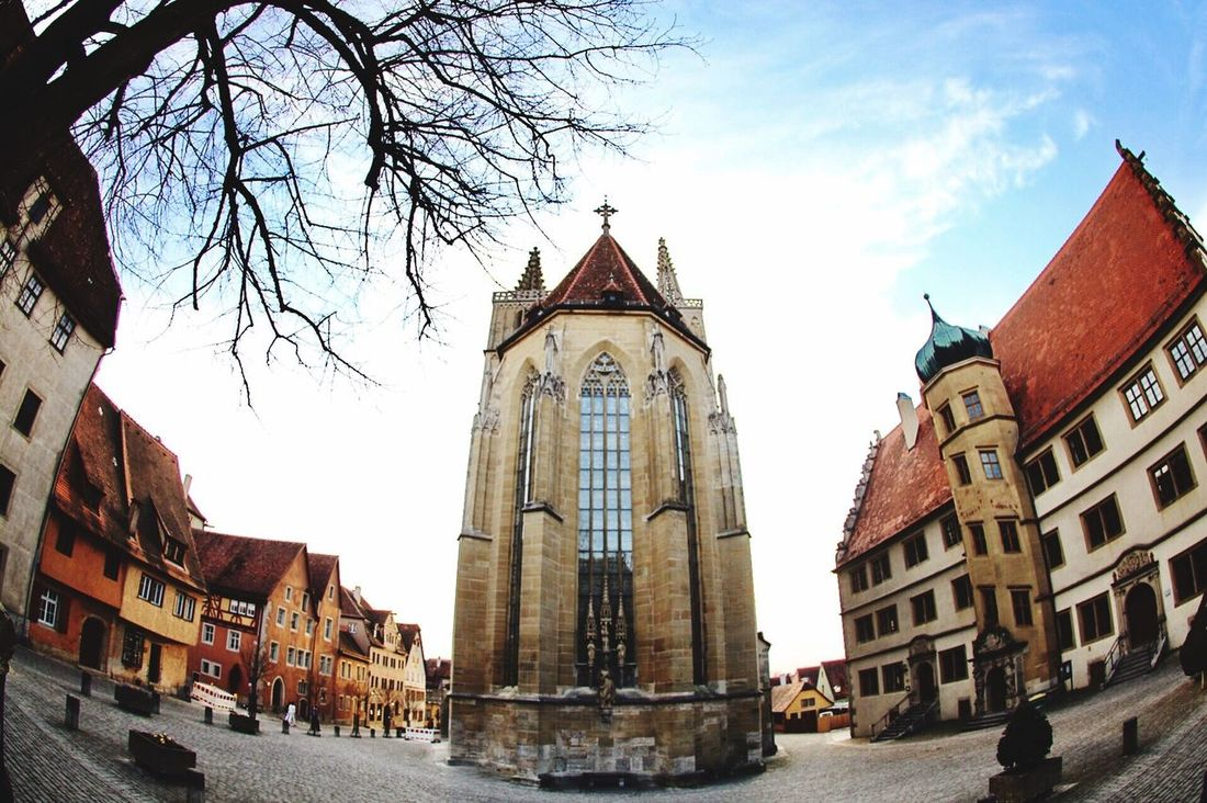 Rothenberg Building Exterior Architecture City Sky Spirituality Outdoors City GERMANY🇩🇪DEUTSCHERLAND@ Germany Architecture Rothenburg Ob Der Tauber
