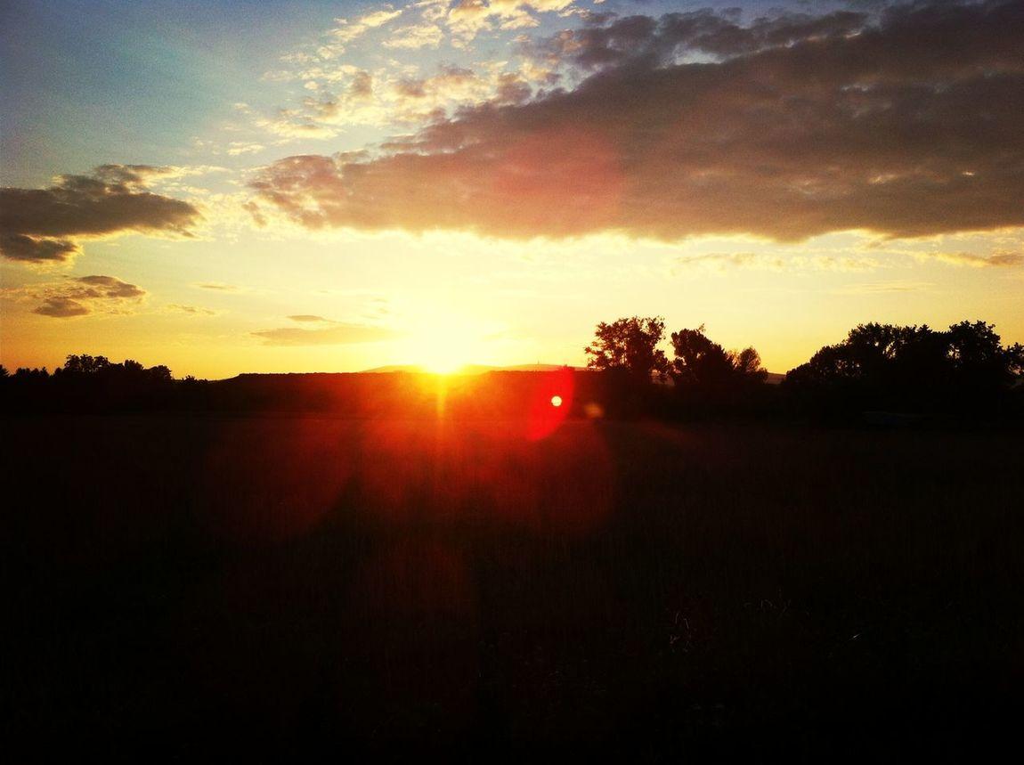 First Eyeem Photo Sundown Beautiful #Frankfurt