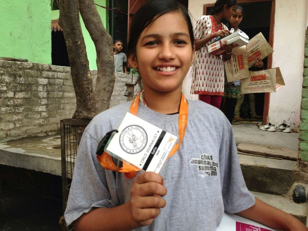 Blogging with World Vision in Delhi by Misho Baranovic