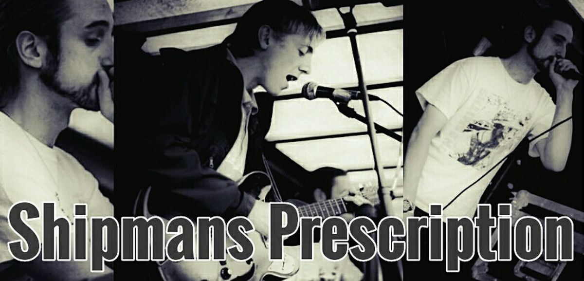 """Shipmans Prescription promo picture.. originally taken at The Broadway, Broadwayfest 2015. New composite by me. """"The best, most original group of recent years"""" -NME. Nuff said. Shipmans Prescription Musicians Gigging Male Vocal Guitar Player Dancing Gig Band Manchester Music Manchester"""