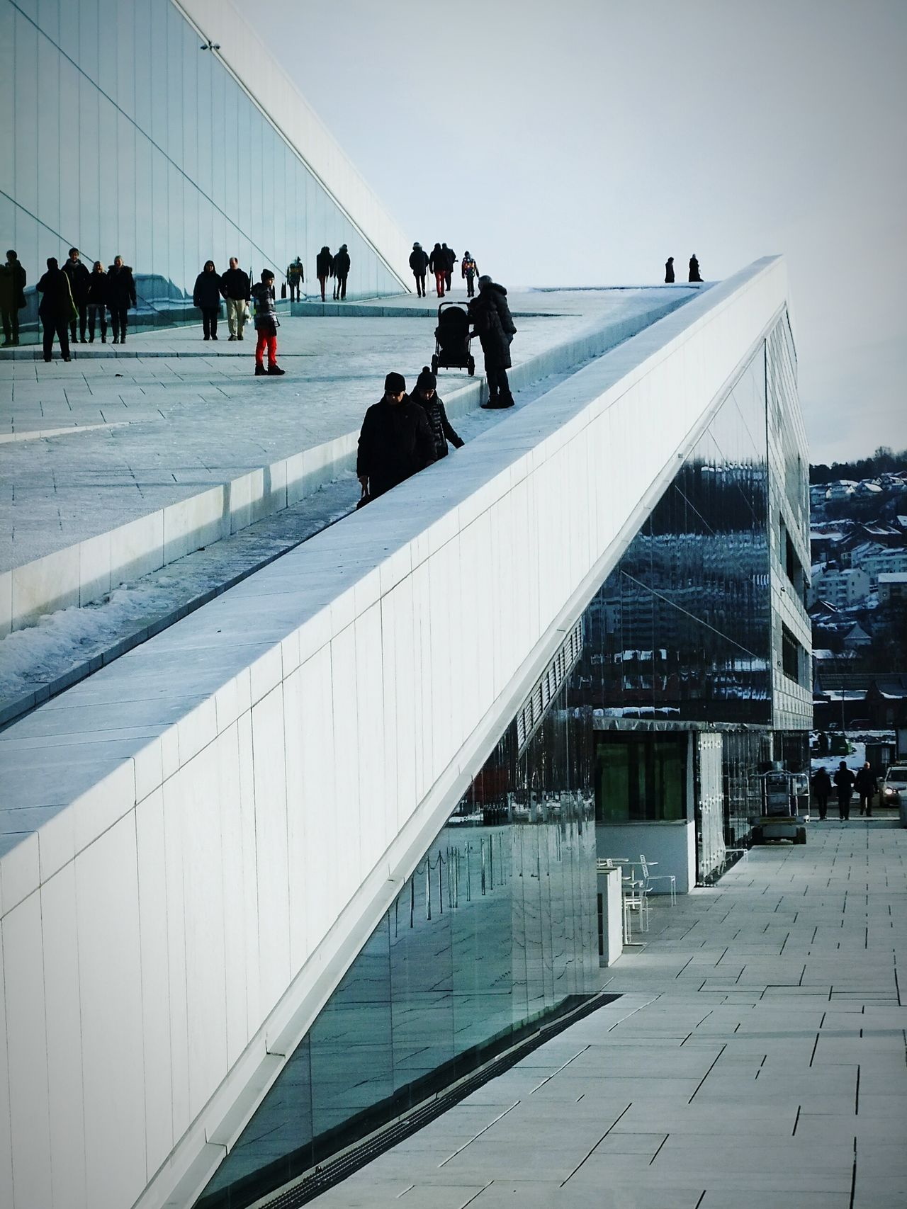 Oslo Operahouse The Architect - 2016 EyeEm Awards Buildings Operahouse Oslo Tim Bailie Phone Photography Architecture Norway Oslo Opera House