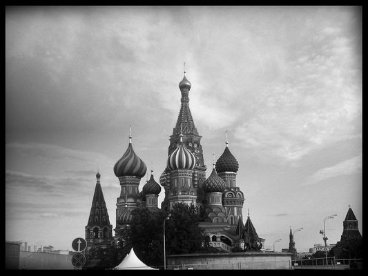 Kremlin at Moscow by VladimirSerov