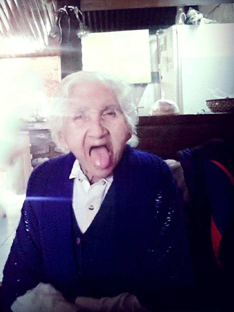 Grandma Funny Faces Iloveyou Infinity ∞