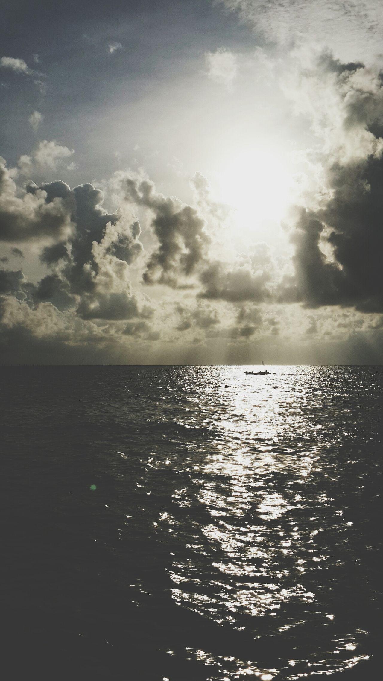 Sunset Losari Beach