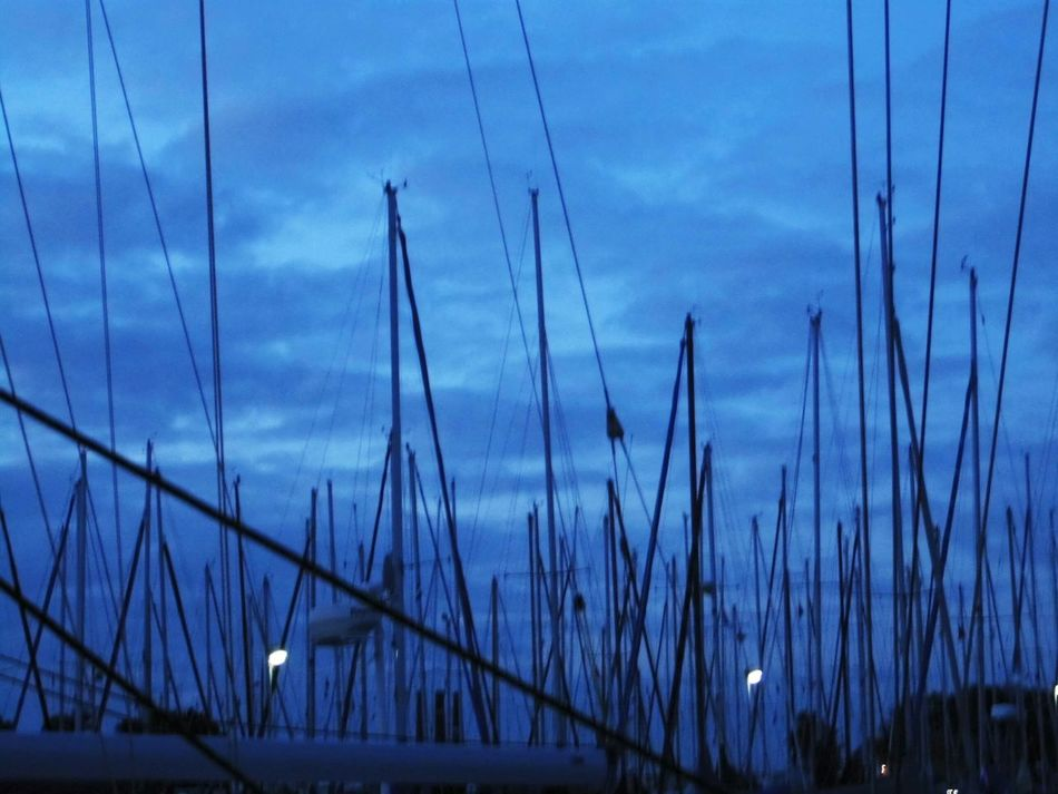 Taking Photos Masts Getting Inspired Clouds &sky Blue Hour