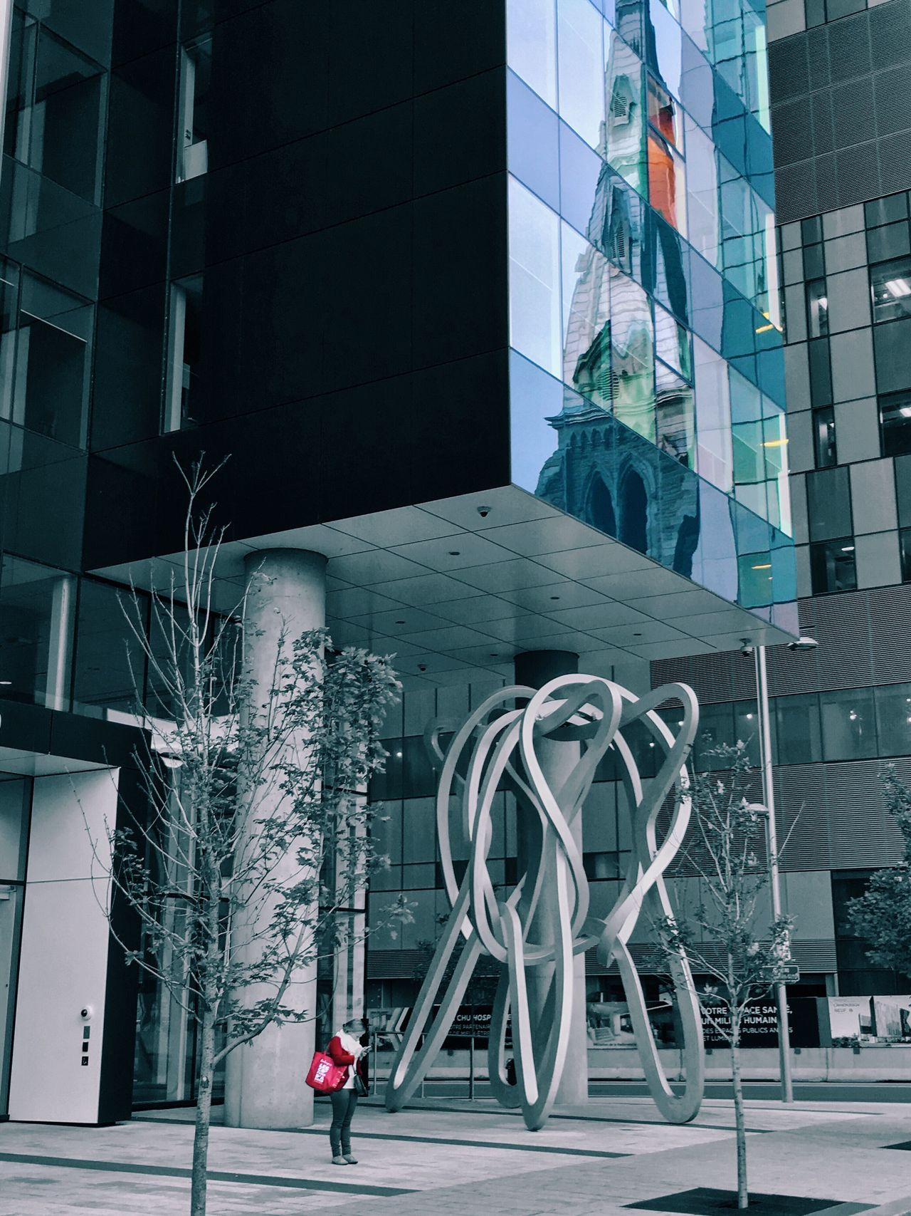Building Exterior Architecture Technology Built Structure Modern Outdoors City Day Sky Reflection Teaching Hospital Chum