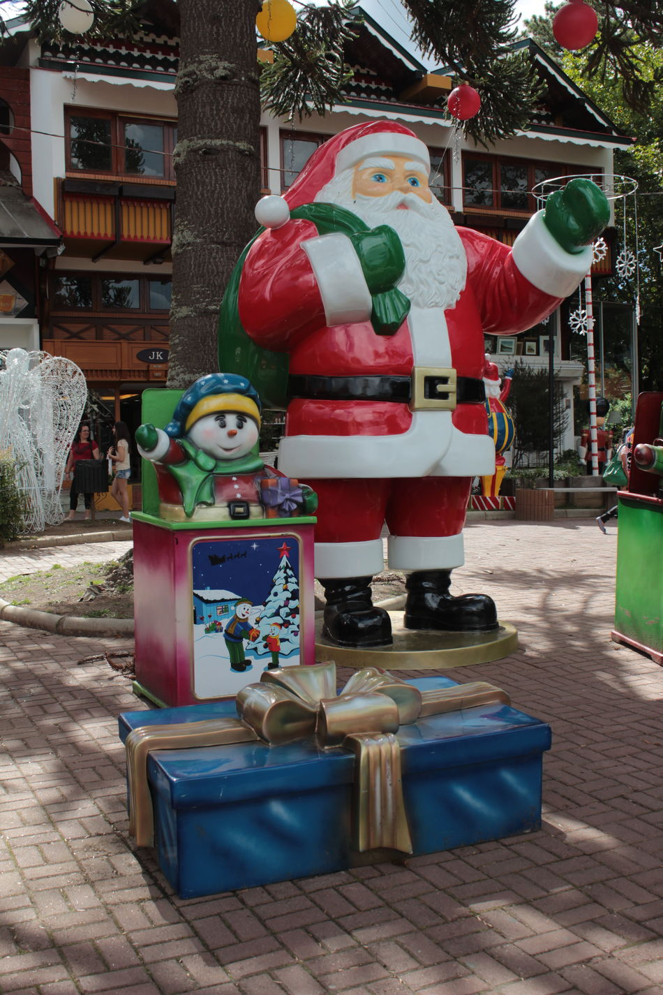 Day Enfeite De Natal Natal Outdoors