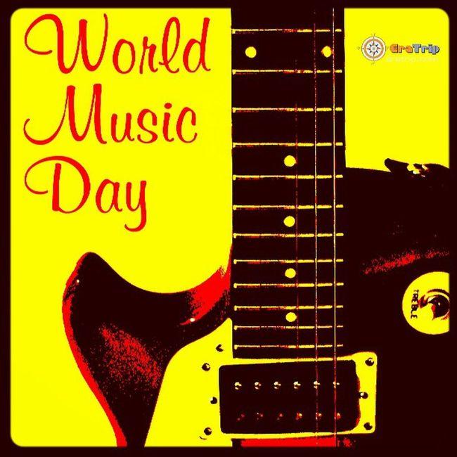 Worldmusicday ..!! Music is the food of Love ..!! HappyWorldMusicDay .