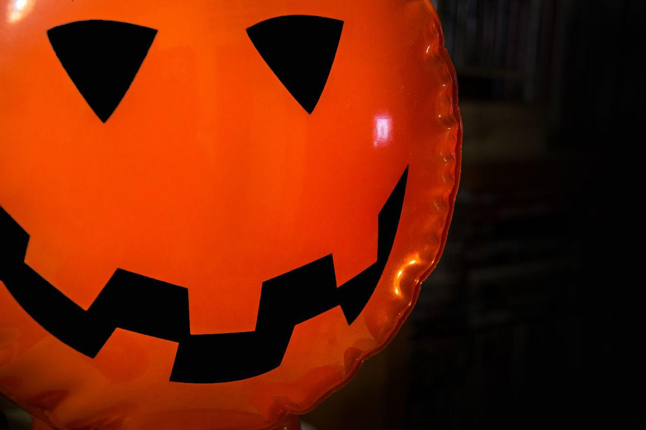 orange color, night, lantern, illuminated, anthropomorphic face, jack o lantern, celebration, no people, close-up, pumpkin, outdoors, halloween