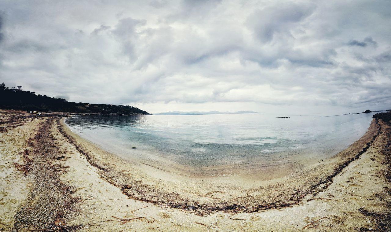Provence Les Salins Beach Sea Saint Tropez