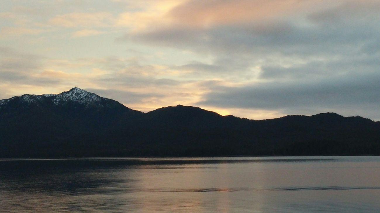 Natural Beauty Showcase: December Sunset Alaska