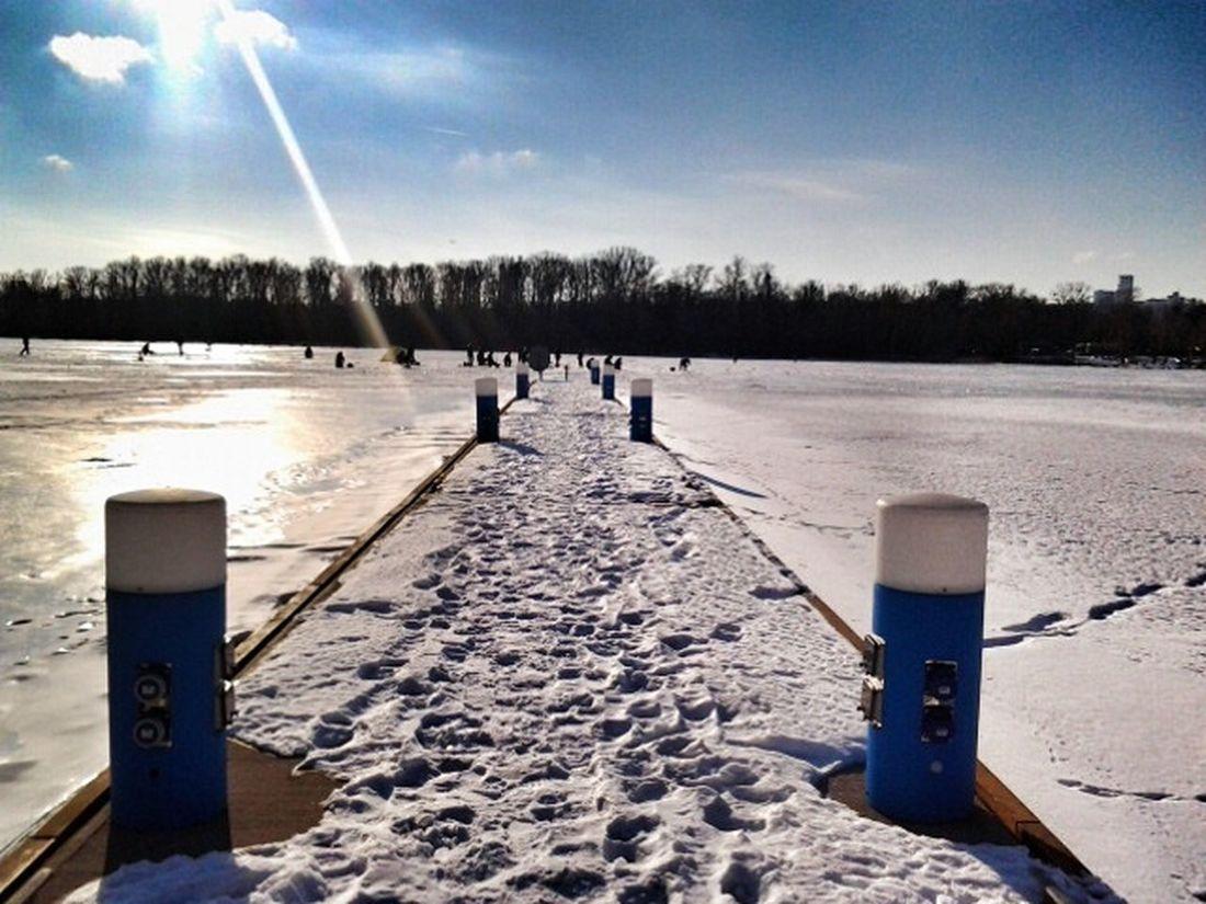 Wintertime Love Fishmen River