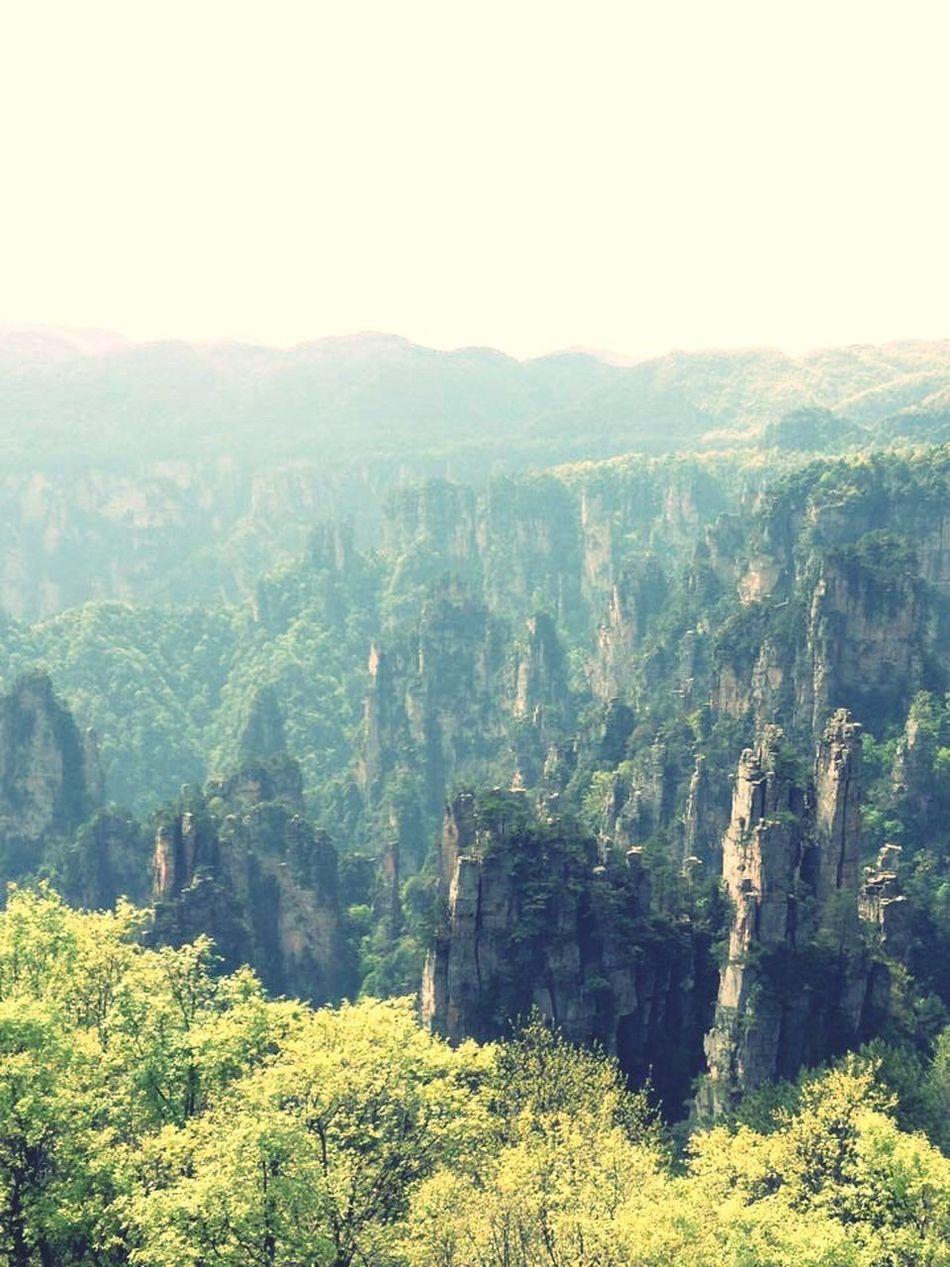 Avatar it is!! Avatar Changsha,China Changsha Zhangjiajie China Mountains Randomshot Iphoneonly Iphone6plus Random Instaphoto Pictureoftheday Iphonephotography IPhoneography Benzjourney Landscape Landscape_Collection Landscape_photography