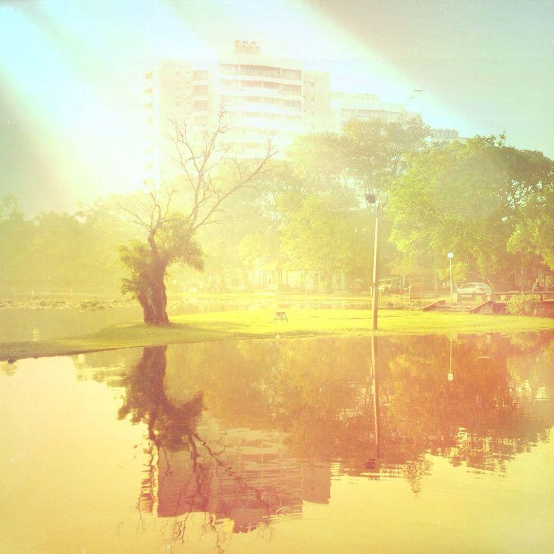 Good Morning Popular Photos Chonburi ,Thailand Burapha University Bangsean