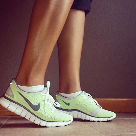 Just bought my shoess! Putting these to work! Nikey Freeruns Comfy  Workout love