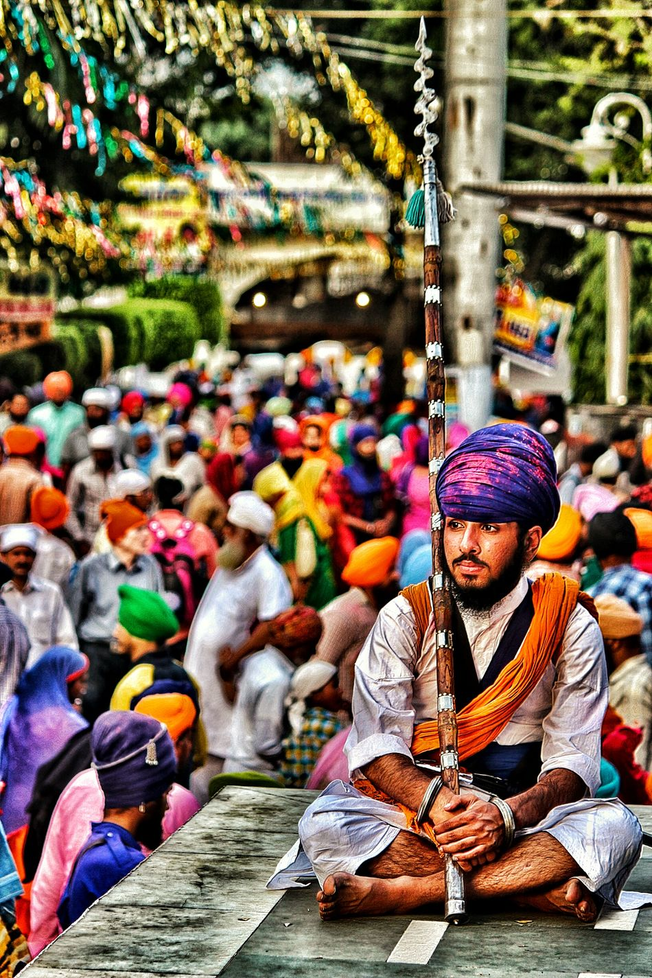 Colour Of Life Sikhism ANANDPURSAHIB Birthplaceofkhalsa EyeEmNewHere