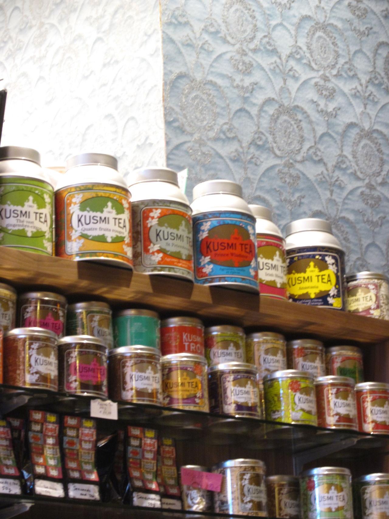 Kusmi tea Food And Drink Indoors  Kusmi Tea Large Group Of Objects No People Tea Tee Teeregal