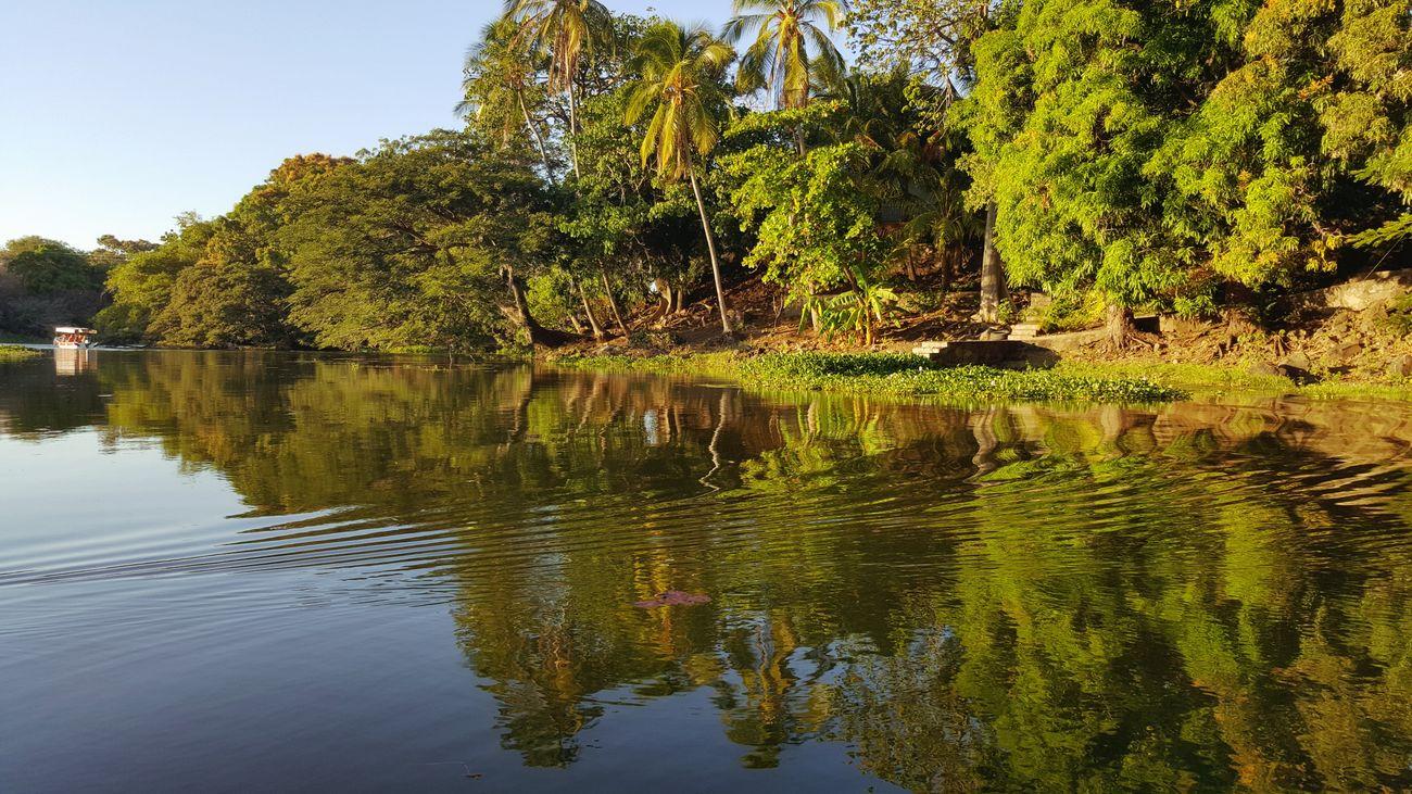 Nicaragua Granada, Nicaragua Isletas De Granada Sunset Water Tree Lake Reflection Lake Nature