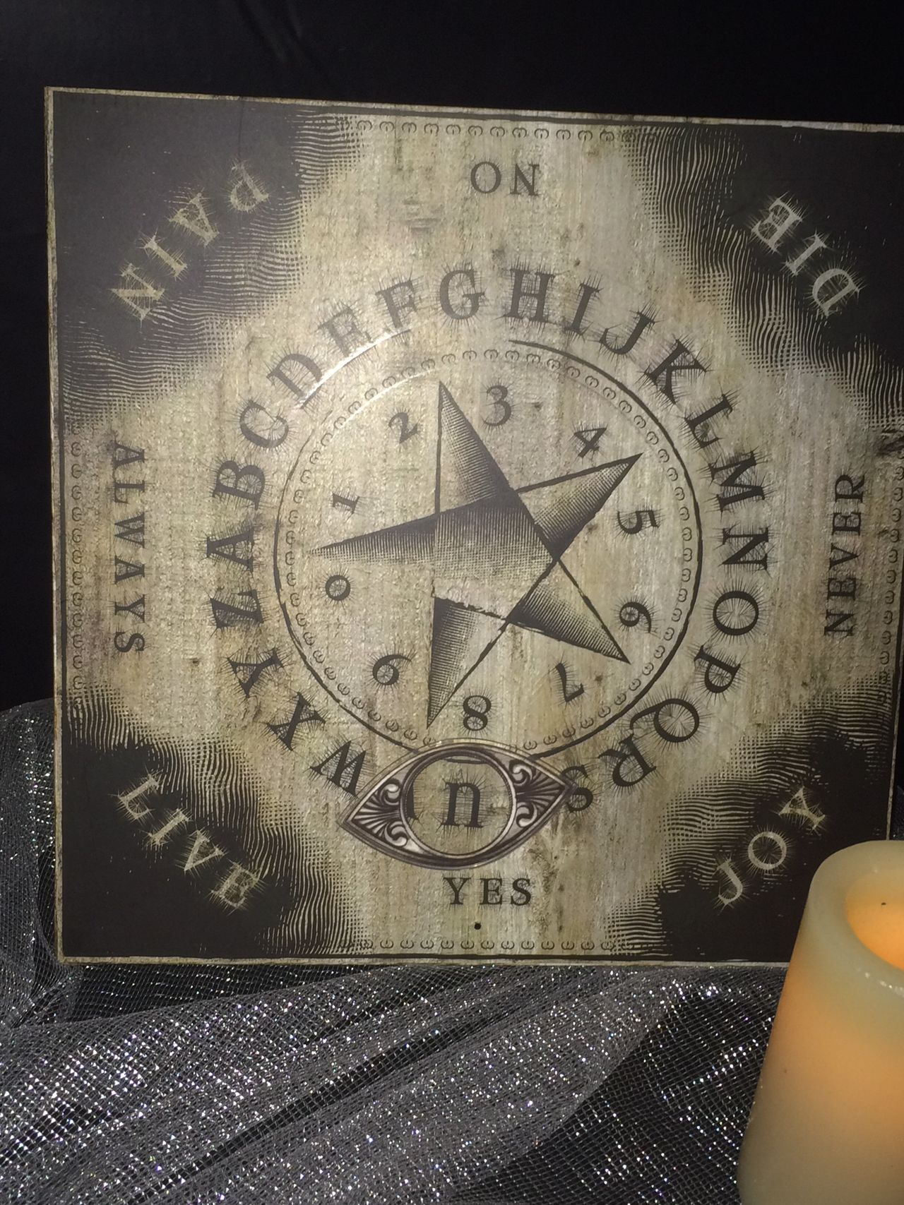 Game Halloween Ouija Board
