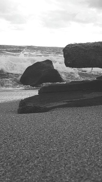 Beach Sea Nature Sand Beauty In Nature Beach Photogrqphy Beach Life Lydgate Beach Wet Kauai Life Close-up Blackandwhite Photography