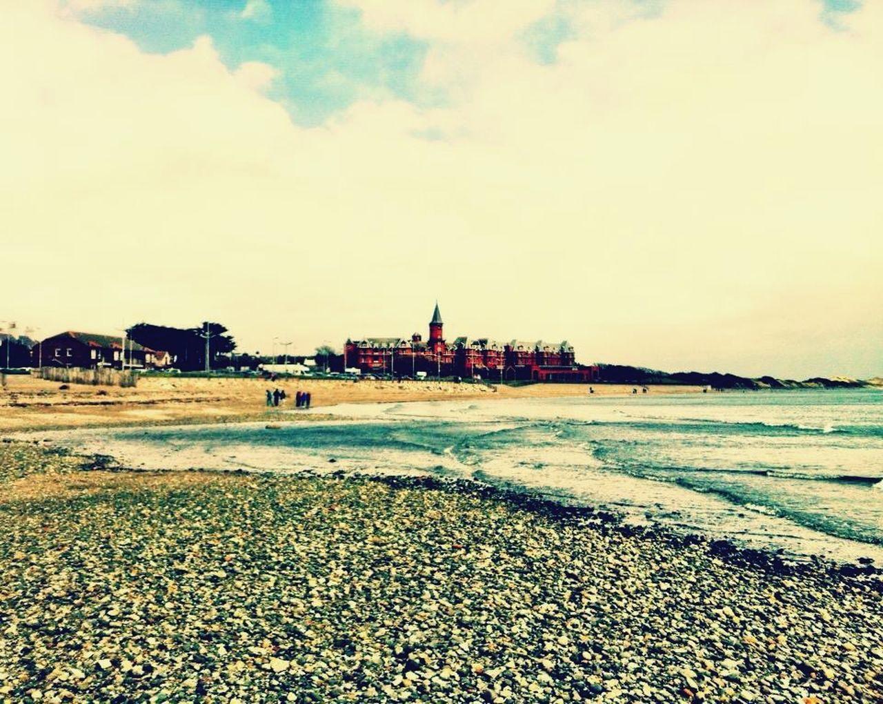Northern Ireland Slievedonard Serenity Copyspace Pebbles Beach