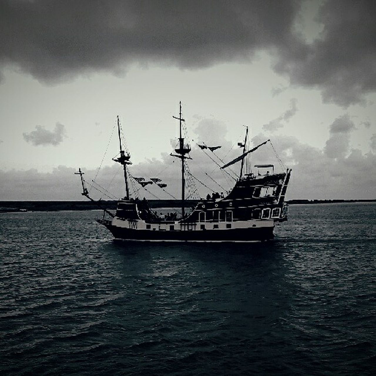 Cake by the ocean Ocean Ship Navy Ocean Corpus Christi, Tx The Isabella Vintage Photo Selective Focus Wood Ships