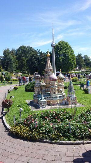 Day Famous Place Miniature Outdoors Park Plant Replica  Sky St Basil's Cathedral Tourism Travel Destinations
