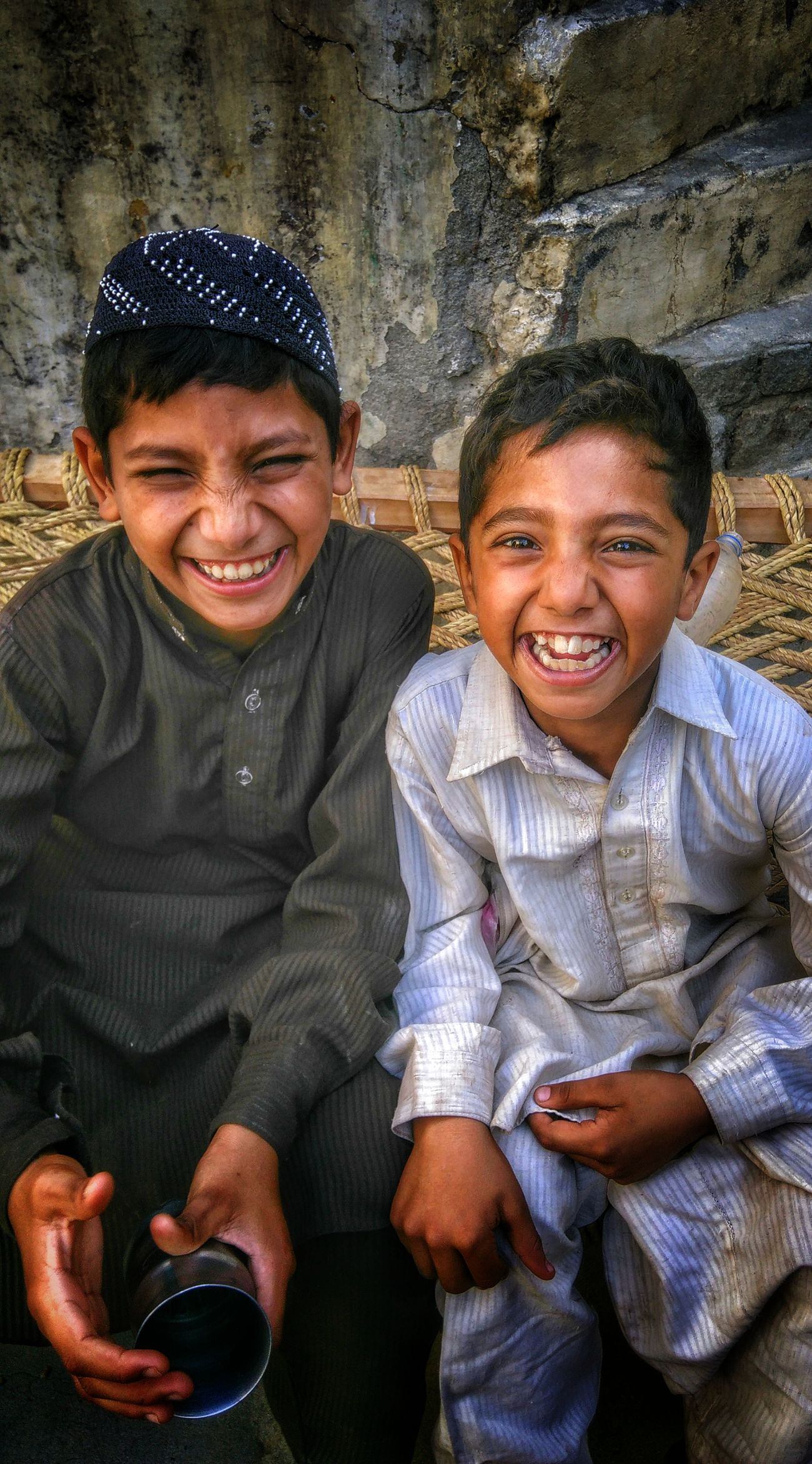 Innocentt Joyfull Tradiotional Cloths People Of EyeEm Love Happiness Enjoyment Smilling Children Photography Innocent Face Innocent Eyes Portrait Looking At Camera Togetherness Smiling Happiness Front View Leisure Activity Waist Up Person Casual Clothing Young Adult Fun Enjoyment Content
