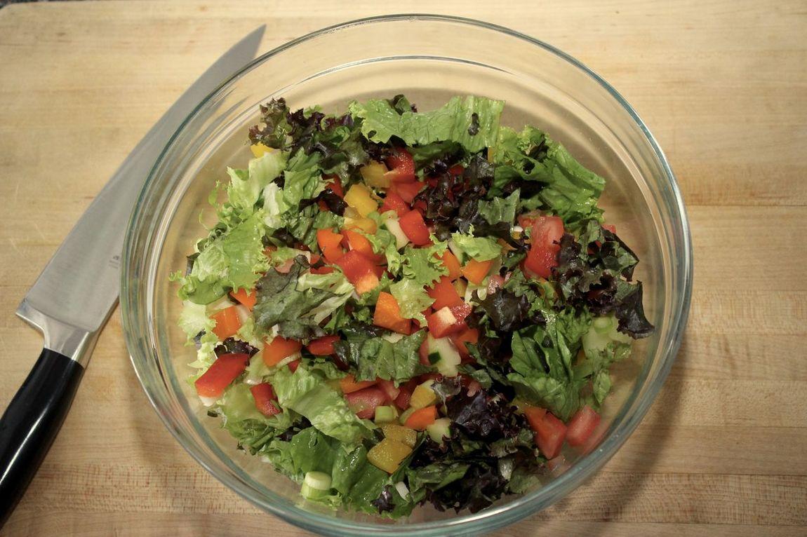 Bowl Cutting Board Food Freshness Knife Leaf Leaf Vegetable Organic Salad Vegetable Vegetarian Food