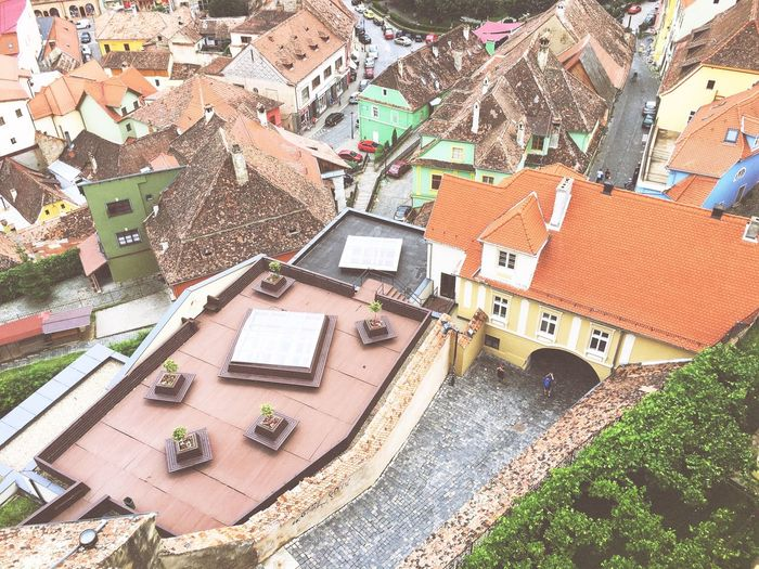 My Own Style Of Beauty Showcase: September EyeEm Traveling EyeEm In Sighisoara Visual Witness Visit Romania Hello World View From Above A Bird's Eye View Hipstamatic Hipstography Shootermag ShotoniPhone6s Architecture Flying High