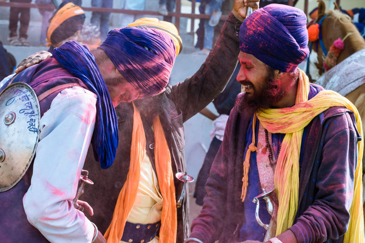 holla mohalla 2k17 Celebration Cheerful Day Friendship Fun Group Of People Holi Holiday - Event Lifestyles Men Multi Colored Outdoors People Powder Paint Smiling Togetherness Traditional Festival Travel Destinations Young Adult