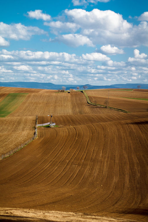 Agriculture Beautiful Landscape Cloud - Sky Clouds And Sky Colorful Colors Day France Landscape Minimalism Motorsport No People Outdoors Scenics Sky Tire Track View Viewpoint